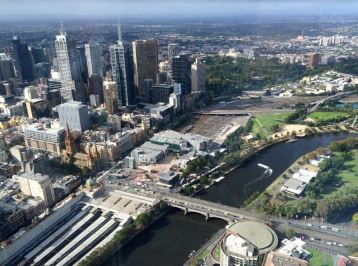 View rom the Eureka Tower